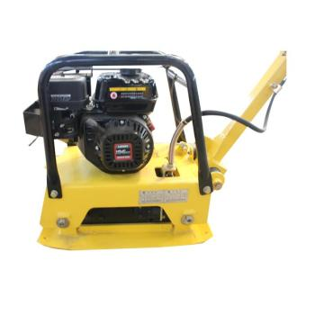 Hand held hydraulic vibrating plate compactor