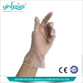 Disposable powder free vinyl examination gloves