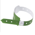 NFC RFID Paper Wristbands 13.56Mhz for Hospital