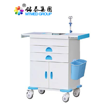 Color medicine steel rescue cart