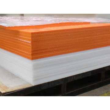 Goods high definition for for Hdpe 500 Sheet Orange Color HDPE Polyethylene Plastic Sheet supply to Luxembourg Exporter