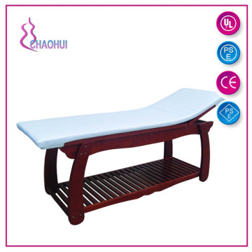 Factory Price for Solid Wood Massage Bed Multifunctional Wooden Facial bed supply to Armenia Suppliers