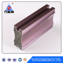 colorful aluminum profile sliding wardrobe door