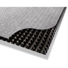 Goods high definition for Short Fiber Nonwoven Geotextile Fabric Fabric/Silt Fence/Drainage Board with Geotextile export to Guinea Importers
