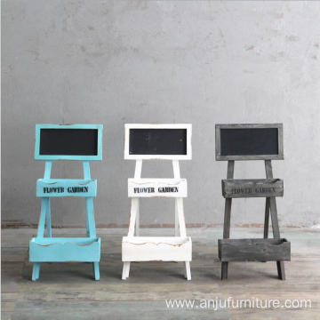 Bottom price for Chalkboard Board Standing shabby wooden chalkboard wooden blackboard with stand supply to Spain Wholesale