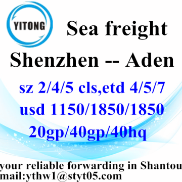 Top Competitive international global shipping To Aden