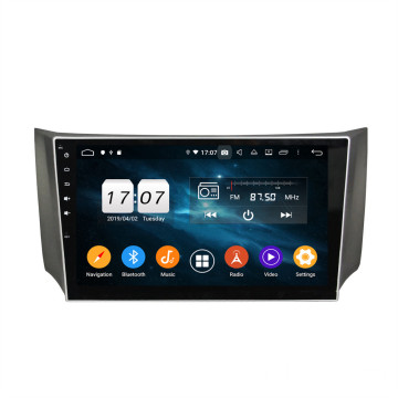 car dvd player schermu touch per Sylphy 2012-2015