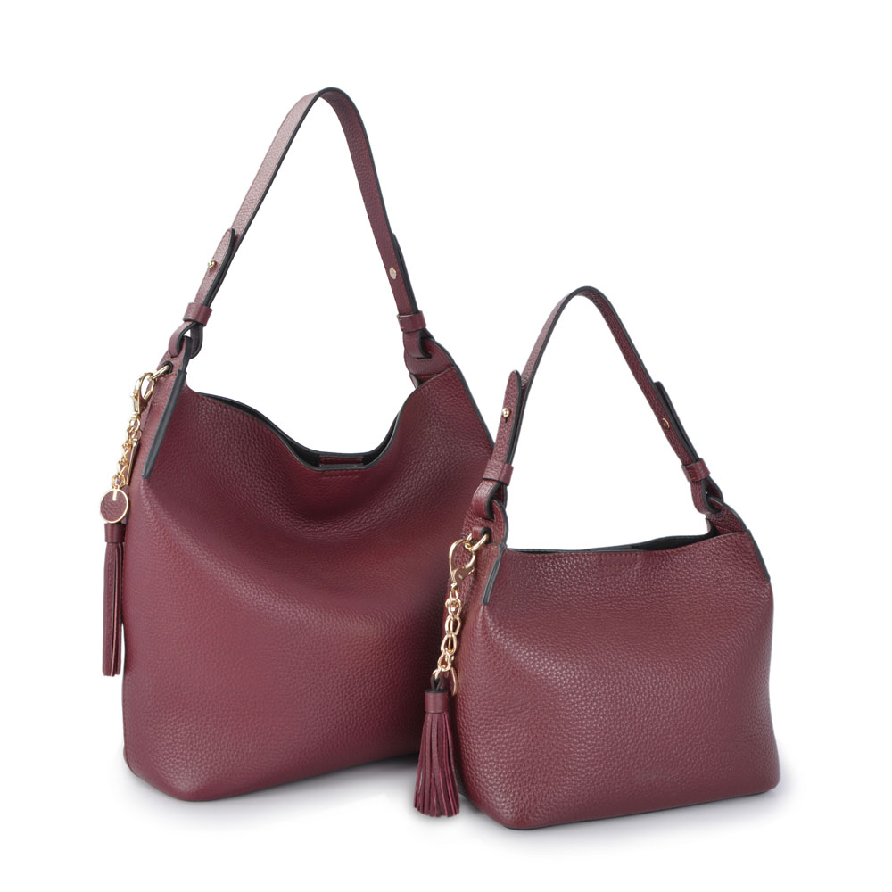 Women Large Travel Capacity  Leather Hobo Bags
