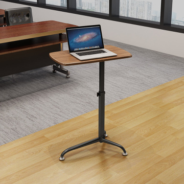 Height adjustable podium stand table