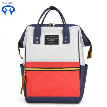 Customized travel bag leisure student backpack