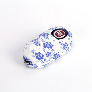 Custom silicone fob cover for Fiat 500