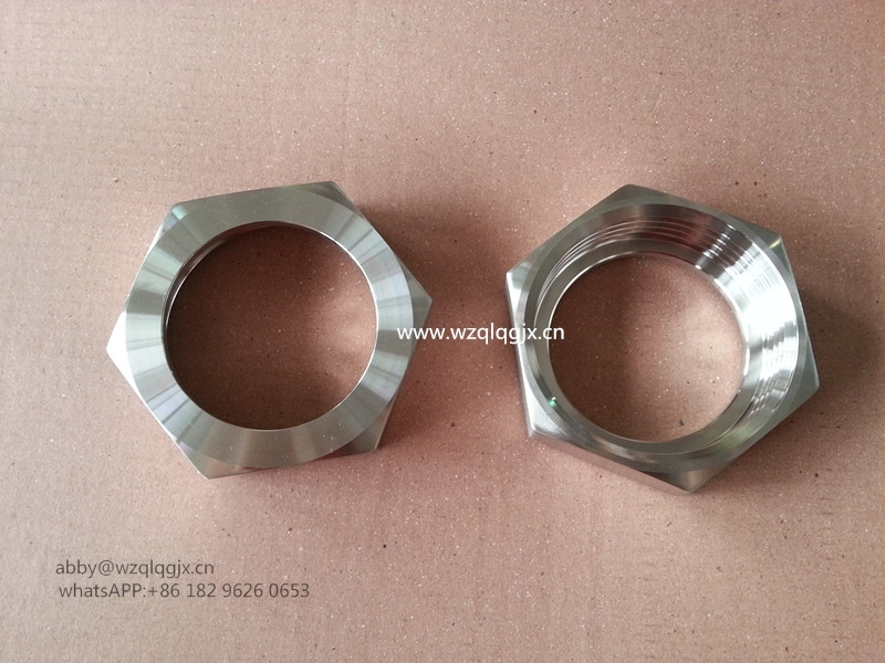 Sanitary Hex Nut Union with RJT Standard