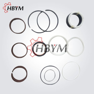 Q130*80mm Putzmeister Hydraulic Cylinder Seal Set Kits