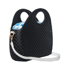 OEM manufacturer custom for O Bag Moon, O Bag Moon Light, O Bag MilanoManufacturers and Suppliers in China fashion girl waterproof handbag crossbody with PU handles export to Indonesia Factories
