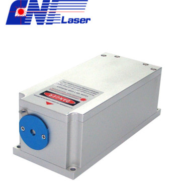 Blue diode laser with norraw line width