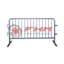Heavy Duty Galvanized Interlocking Metal Barrier