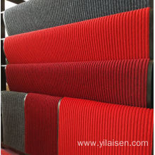 Household use custom color cheap price stripe mat