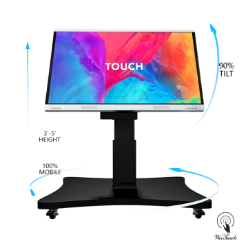 70 Inches Smart LCD Panel With Automatic Stand