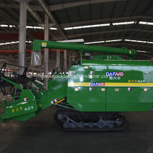 Reliable for Harvesting Machine Cheap price crawler type less impurities harvester rice export to Nigeria Factories