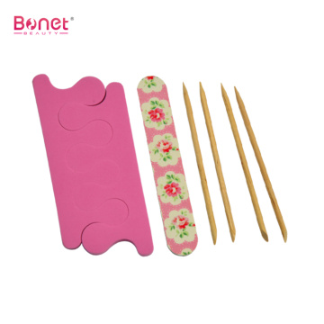 Cute nail file and nail separator set