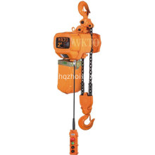 Cheap for Portable Crane Hoists 1 ton single speed electric chain hoist export to Japan Factory