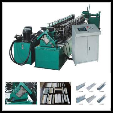 Steel Double Furring Machine Metal C Channel Machine