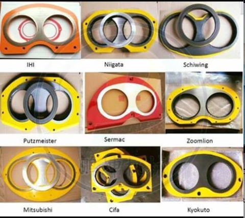 Concrete Pump Parts Wear Plates