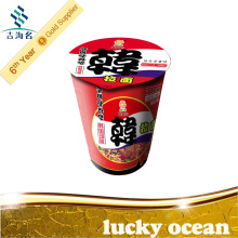 65g spicy cup instant noodles with good price
