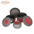 Lightweight Backpacking cooking Pans Pot Mess Kit