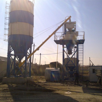 20 Ready Mobile Concrete Mixing Plant For Construction