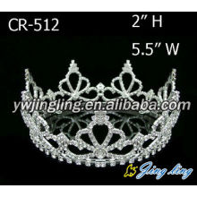 Wholesale Cheap Rhinestone Round Crowns Tiaras