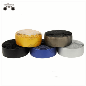 Carbon fiber bicycle handlebar tape mountain bike handlebar tape Fixed gear bicycle bullhorn handlebar tape