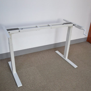Hand Crank Stand Up Manual Crank Adjustable Desk