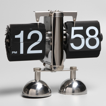2-feet Auto Flip Desk Clock