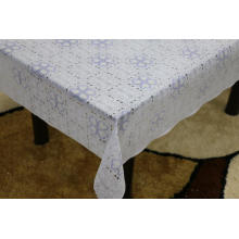 bunnings Printed pvc lace tablecloth by roll