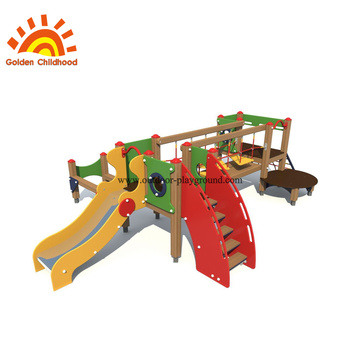 HPL Outdoor Balancing Bridge Playground Equipment