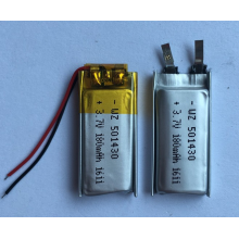 3.7v 180mAh Lipo Battery For Headphones (LP1X3T5)