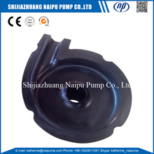 Factory selling for Slurry Pump Impeller Elastomer Slurry Pump Cover Plate Liner export to Spain Importers