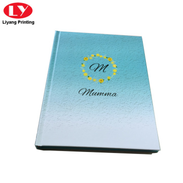Hardcover notebook mei oanpast logo