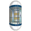 Elevator Decoration With Semicircle Acrylic , Car Roof Decoration