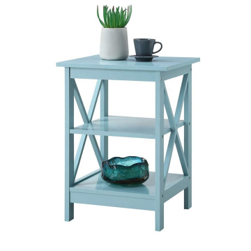 Bathroom Vanity Cabinet Modern Sky Blue wood nightstand