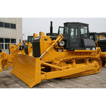 Shantui SD22 crawler bulldozer with three-shank ripper