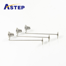 Metal battery spring torsion spring for electronic
