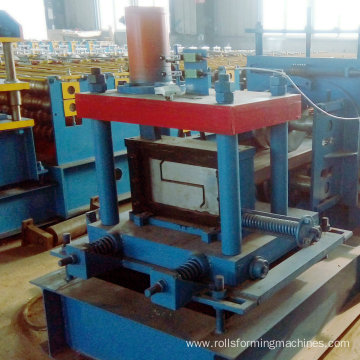 automatic change z purlins cold roll forming machine