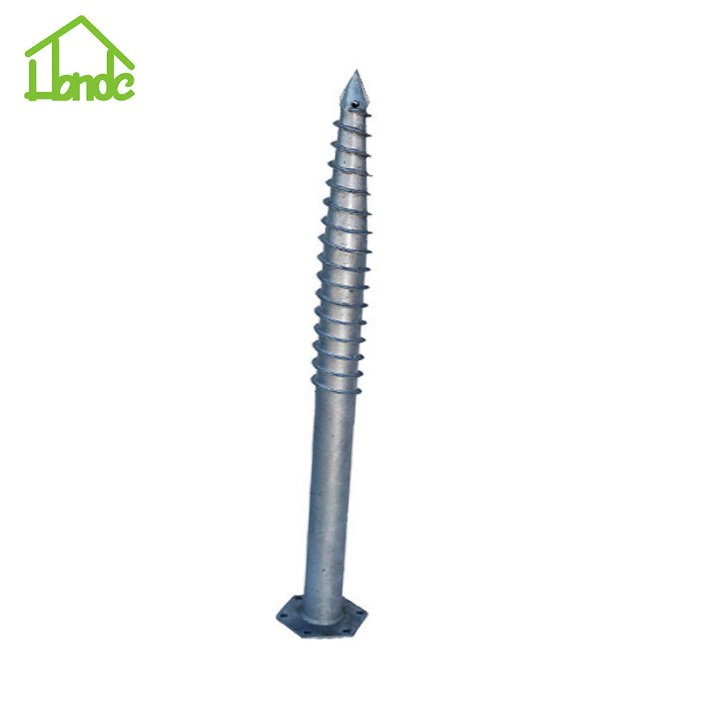 Hot Dipped Galvanized Hex Ground Screw Pile