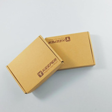Kraft Paper Folding Elegant Mail Corrugated Paper Box