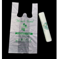 PLA 100% Biodegradable Compostable Supermarket Shopping Bags