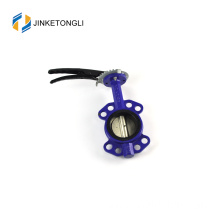 JKTLWD021 seat ring carbon steel fully ged butterfly valve