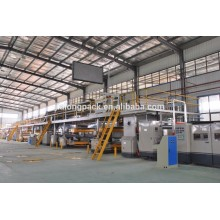 high speed single corrugated cardboard production line