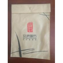 Small size button ultrasonic non woven advertising bag